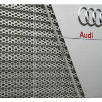 澳洋奥迪汽车4S店外墙装饰板网@海安奥迪汽车4S店外墙铝合金板装饰板网