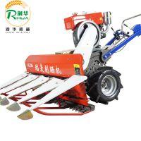 新农产品小型玉米收割机 多功能玉米收割机