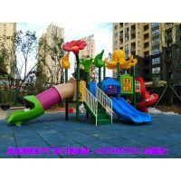 益阳小区儿童塑料滑滑梯安装 沅江幼儿园组合滑梯根据场地设计
