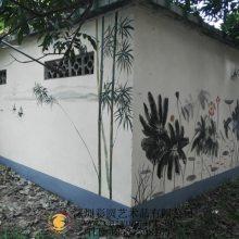 美丽乡村文化墙彩绘创意设计公司-彩圆壁画