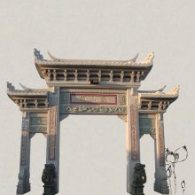 广场石牌坊意义 印度红石牌坊的来历图案