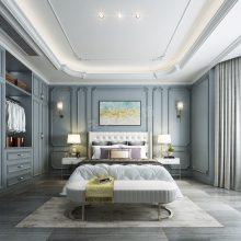 融创国博城别墅装修案例|天古装饰梦空间设计师段成钢设计作品