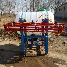 金源厂家供应拖拉机后置悬挂式喷杆打药机 定制800升伸拉杆式打药机