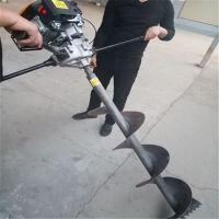 康定县一体式立杆挖坑机 电线杆钻孔机价格 光伏打桩机