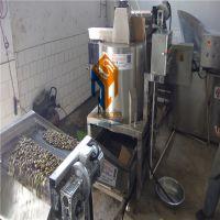 云南兰花豆油炸机 电加热自动搅拌蚕豆油炸锅 蚕豆整套油炸线