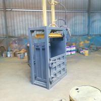 江苏易拉罐油漆桶压扁机/立式打包机价格/废纸立式打包机
