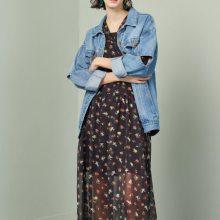 上海时尚装柜品牌 昆诗兰19新款春装 连衣裙 外套 健凡折扣女装批发
