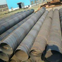降水井钢管800mm 久汇钢制冲孔滤水管(井壁管)降水冲孔铁管