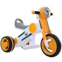 萨玛特新款儿童电动摩托车玩具车男女宝宝三轮电动摩托车智能启动