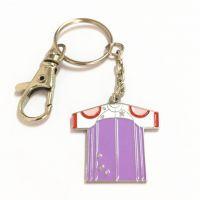 简约男士商务钥匙扣 创意钥匙链小礼品定制镭射LOGO钥匙挂件
