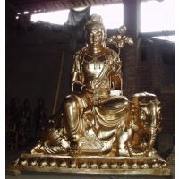厂家生产 文殊菩萨铜像 铜普贤菩萨铜像 文殊普贤铜佛像