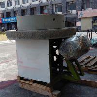 生产加工多种型大产量的粮油店***的香油芝麻酱的豆浆石磨机智鑫机械