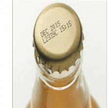 玻璃瓶子饮料瓶喷码机厂家供应饮料瓶日期保质期喷码机食品行业小字符喷码机