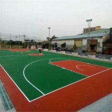 学校体育运动场塑胶跑道翻新 透气式塑胶跑道材料包施工价格-湖南锦腾