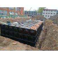 厂家热镀锌材质抗浮式地埋箱泵一体化水箱设备