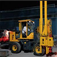 稳拓机械高速公路护栏钻孔打桩机 工作效率快 操作简单