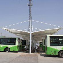 顺发定做郑州SF-MJG0669新能源公交车停车棚(厂家直销)