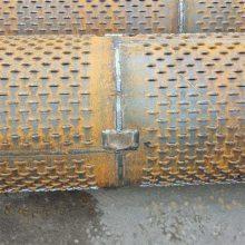 钢制打井用滤水管219*6规格 灌溉井钢管/实管 桥式滤水管