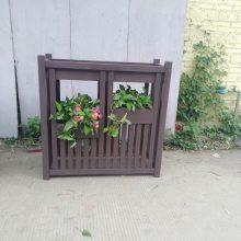 厂家直销防腐木花箱木质花盆户外景观组合街道花箱