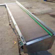 食品厂网带输送机 304不锈钢网带输送机 水平式颗粒网带输送机