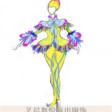 景区演出服装设计游园小丑演出服装设计款式