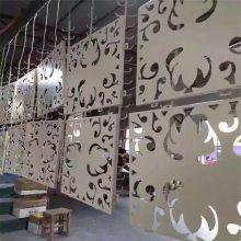 户外墙面门头铝板新型装饰材料_德普龙雕刻镂空门头铝板厂家销售