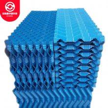 玻璃钢冷却塔填料方塔网格填料 PVC收水器良机冷却塔填料