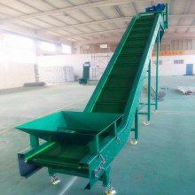 厂家直销封闭式高低可调一米宽皮带输送机_全自动化肥输送机