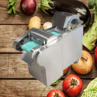 亚博国际真实吗机械 商用切菜机 全自动食堂饭店多功能切菜机 1000型切菜机 商用全自动切菜机