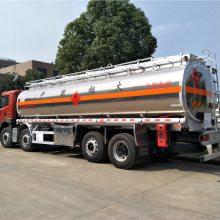 山东20吨铝合金油罐车配置报价,解放前四后六油罐车厂家分期包上牌