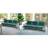 公共金属排椅 软包皮垫座椅 机场椅 【厂家直销】三人座高档公共椅