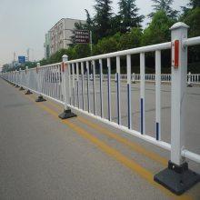 郑州道路中间隔离护栏厂家 久卓直销 塑钢道路中央隔离护栏