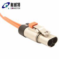 电池测试设备输出端100A-200A单芯直头/弯头塑壳高压..