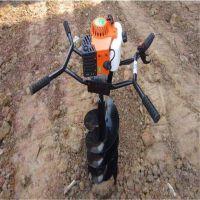 适合大棚果园施肥的小型打坑机 各种型号地钻挖坑机