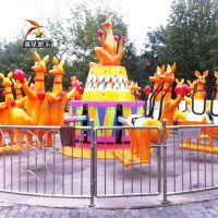 童星欢乐袋鼠跳TX--HLDST儿童大型游乐设备质量优良