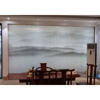 郑州誉华召创夹画玻璃,夹丝玻璃,窄边框极简推拉门,3D打印,既安全又美观。