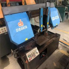 G4228/G4250二手双金属带锯床立柱可试机可保修有售后带锯 旧锯床