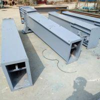 不锈钢刮板输送机 化肥颗粒用耐腐蚀刮板机
