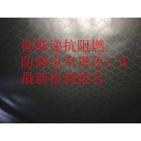 上海防静电网格帘黑色1mm 阻燃