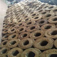 防火高密度岩棉管 80kg岩棉保温管直销价格