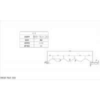 朝阳市横装彩钢板厂家(YX18-76.4-310型)型号齐全