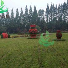 园林植物景观雕塑造型厂家定制,2020***款植物仿真植物雕塑造型