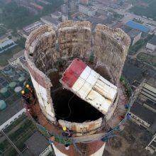 120米混凝土烟囱拆除需要多少钱一米