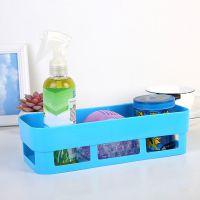 卫生间壁挂式免打孔置物盒强力无痕置物架浴室厨房多功能收纳盒