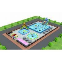 湖南常德充气水上乐园移动式游泳池