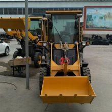 冬季铲雪堆雪装载机 小型多功能四驱装载机厂家 全液压轮式铲车
