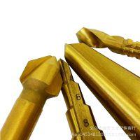 新款高速钢阶梯钻 倒角器 锯钻 伞型钻 4件套 HSS 4件套 套装批发