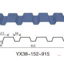 青岛市开口楼承板YX38-152-914型镀锌钢承板生产厂家