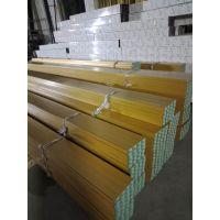 吊顶产品U型铝方通 即墨滚涂木纹铝方通商场吊顶经久耐用,装拆灵活