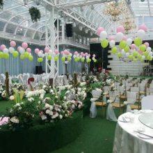 洛阳西工气球婚礼布置 洛龙婚礼现场气球布置 涧西婚庆气球布置